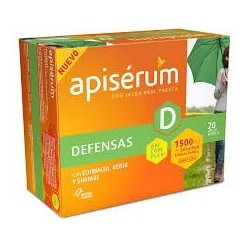 Apiserum Defensas 1500 Mg Jalea 20 Vial