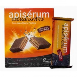Apiserum Estudiante 7 Barritas Chocolate