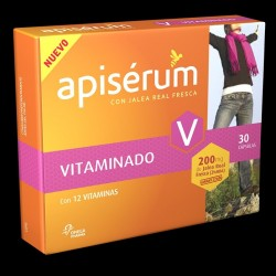 Apiserum Vitaminado 200 Mg Jalea 30 Cap