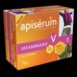 Apiserum Vitaminado 500 Mg Jalea 20 Vial