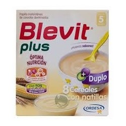 Blevitamina Plus 8 Cere Con Natillas 600 G