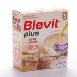 Blevitamina Plus 8 Cereales Galletas 600 G