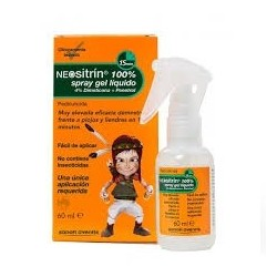 Neositrin Antiparasitar Spray Gel 60 Ml