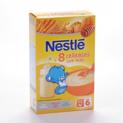 Nestle 8 Cereales Miel 600 G