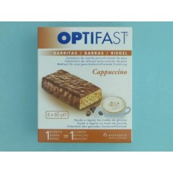 Optifast Cappuccino 6 Barritas 60 G