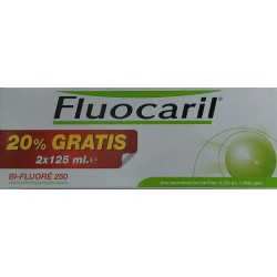 Fluocaril bi-fluore 125 ml 2 u