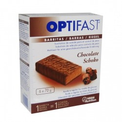 OPTIFAST CHOCOLATE 6 BARRITAS