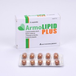 Armolipid plus Triplo 60 comprimidos.-3 packs