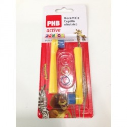 Recambio Cepillo Phb Active Electtr Junior 2 Un